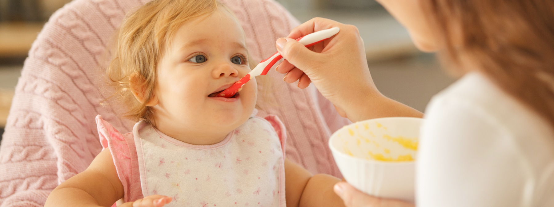 Aiming for children to be happy healthy eaters