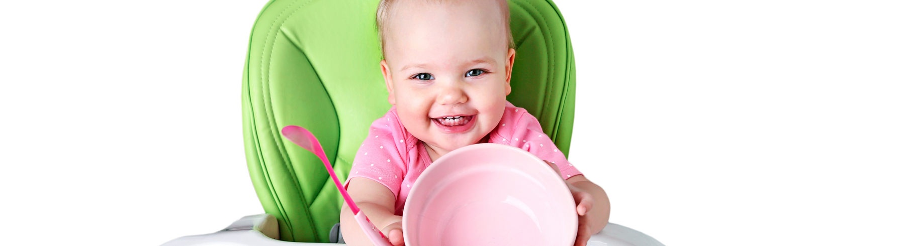 Signs your baby is ready for solid food